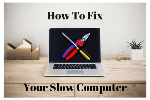 Fighting computer slowdown
